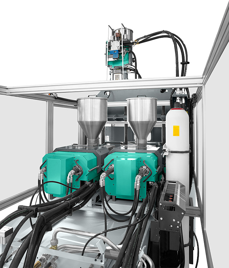 Multi-component injection molding - ARBURG