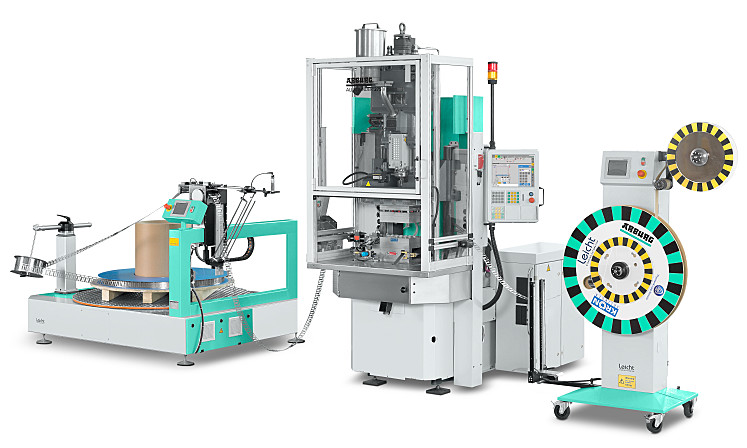 ARBURG supplies turnkey reel-to-reel systems for automated inline production