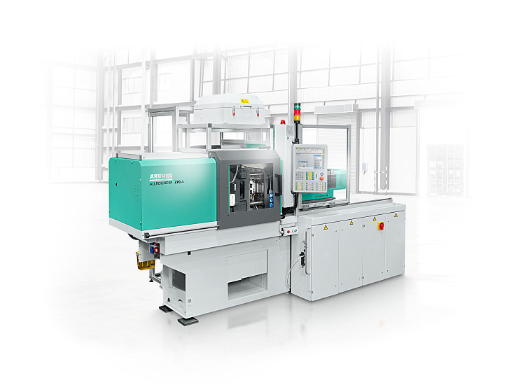 Electric ALLROUNDER 270 A  injection moulding machine with size 5 micro-injection unit