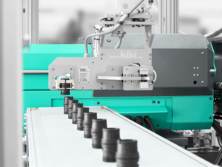 ARBURG supplies specially equipment packages for ALLROUNDER injection moulding machines for the production of elastomers