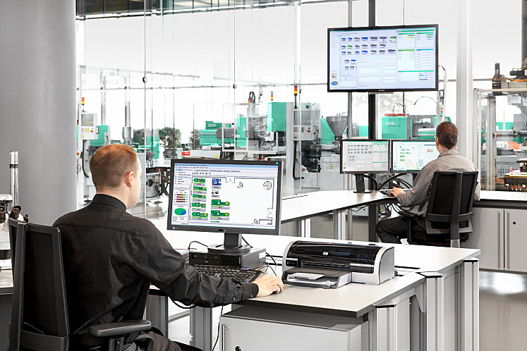 As a key component of Industry 4.0, the ARBURG host computer system (ALS) provides for comprehensive IT networking of moulded part production