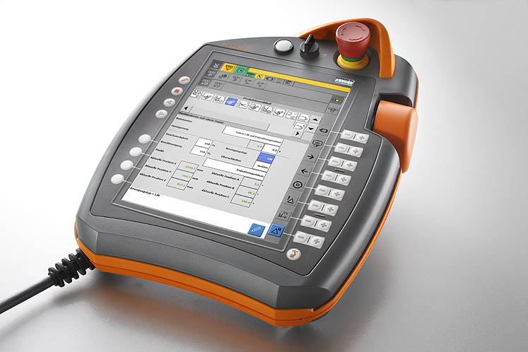 Effective and convenient: SELOGICA user interface with touchscreen for controlling multi-axis robotic system