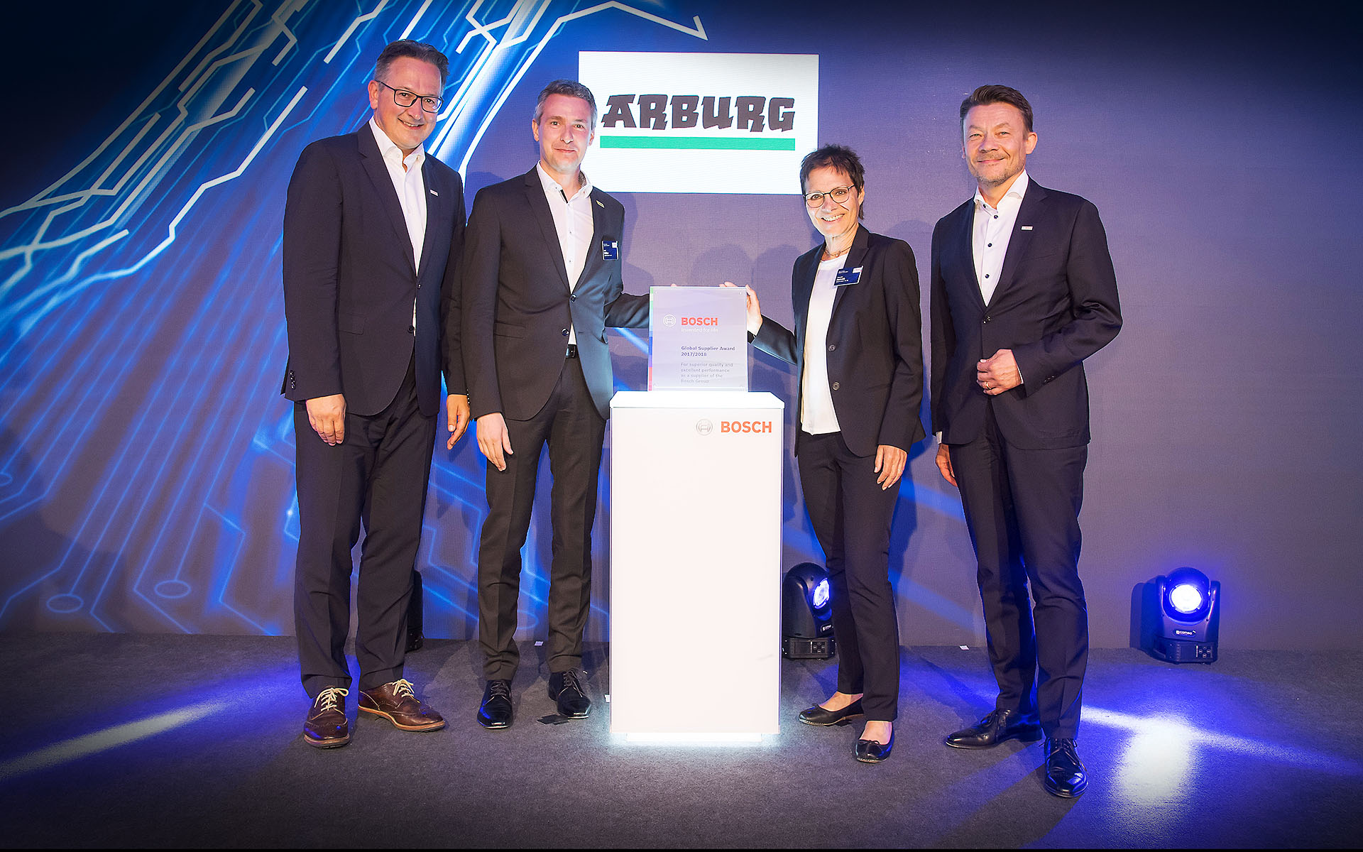Bosch Global Supplier Award 2019