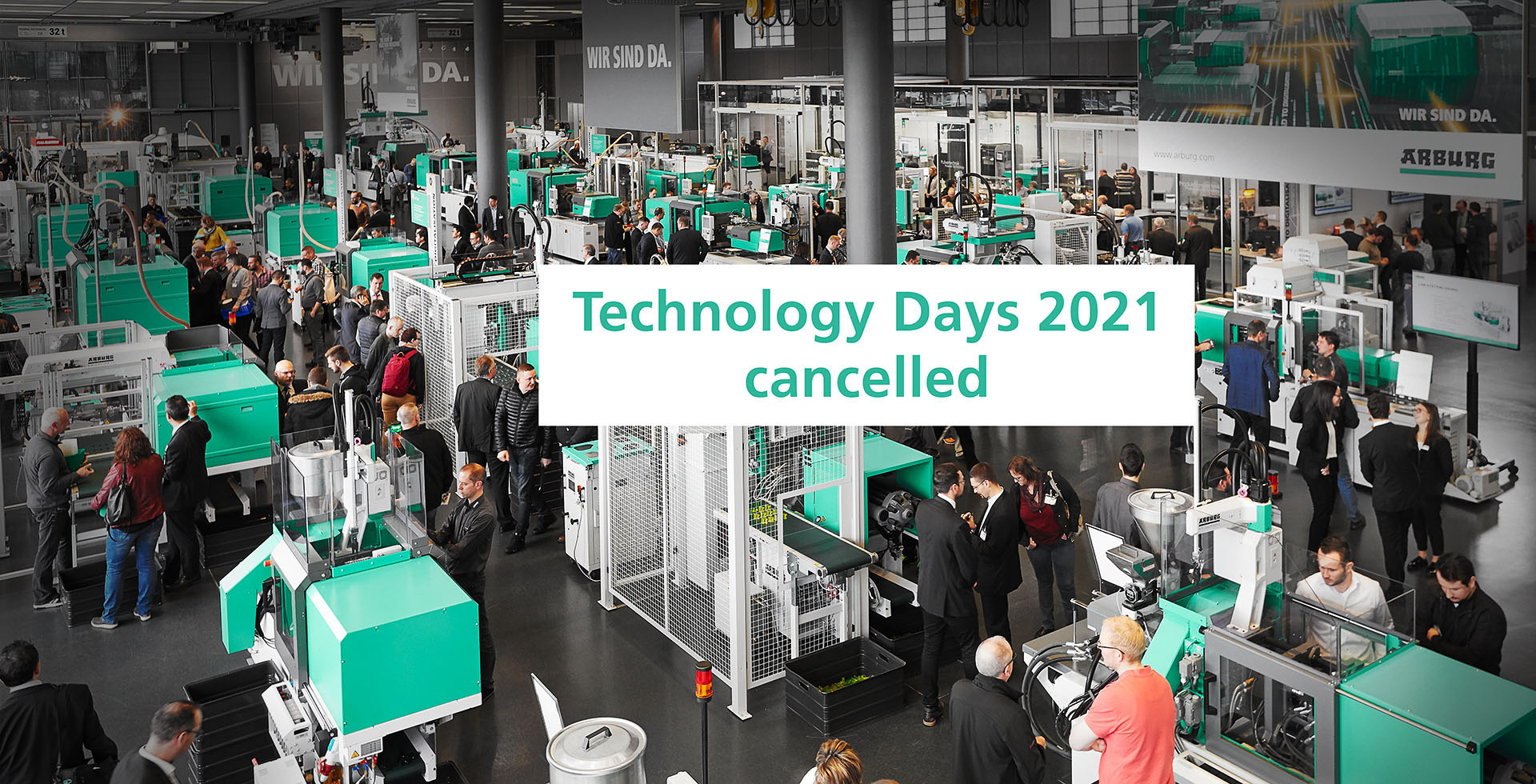 Technology Days 2021 cancelled!