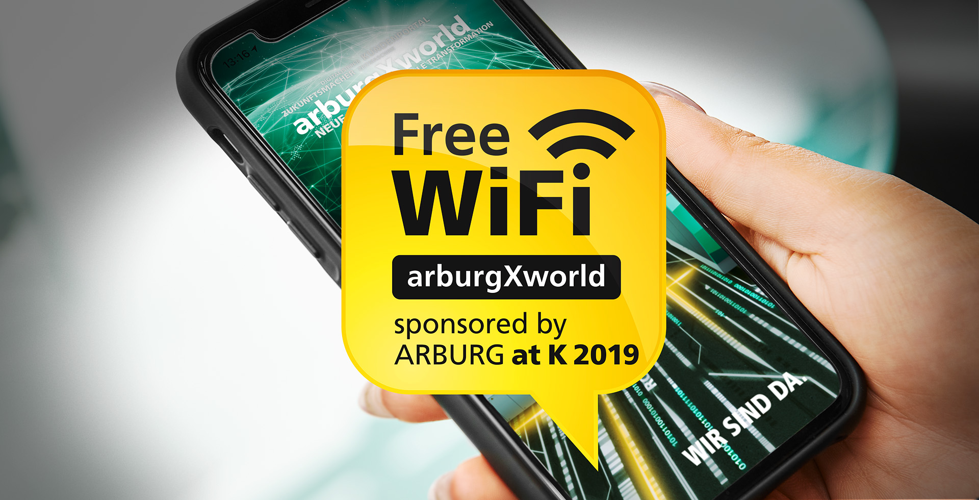 ARBURG makes K 2019 digital!