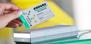 Personalised transponder cards (SAFELOG)