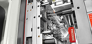 Precise, high performance 64-cavity mould produces pipette tips under clean production conditions