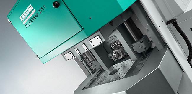 The most comprehensive machine range in the industry for the overmoulding of inserts: vertical ALLROUNDER injection moulding machines